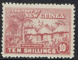 NEW GUINEA 1925 HUT 10/-