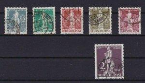 GERMANY BERLIN 1949 STAMP SET USED CAT £280  REF R 2868