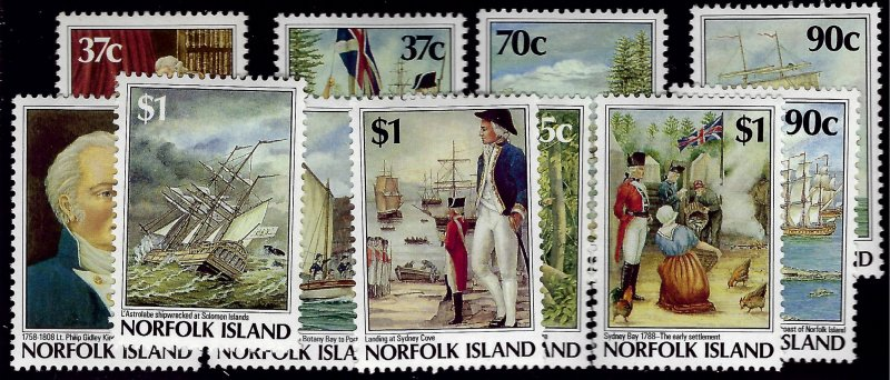 Norfolk Island Scott#426-436 Mint VF....Fill a key spot!