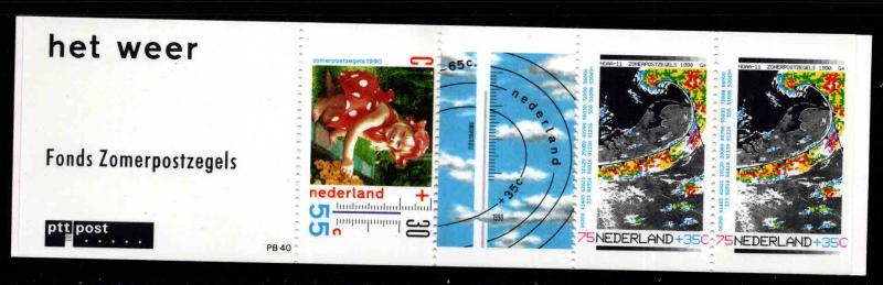 Netherlands Scott B652a  MNH** 1990 stamp booklet