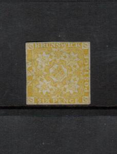 New Brunswick #2 Very Fine Mint **With Certificate**