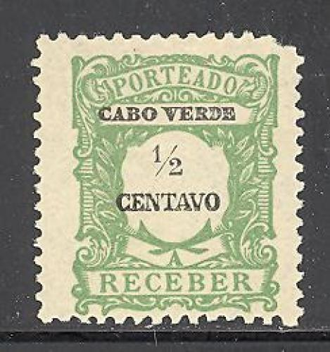 Cape Verde J21 mint hinged SCV $ 0.30