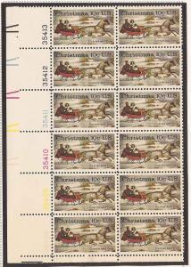1551 MNH Plate Block of 12 LL # 35408-13