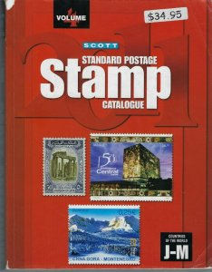 2011 SCOTT STANDARD POSTAGE STAMP CATALOGUE VOLUME 4 (COUNTRIES J-M)
