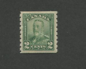 1929 Canada King George V Mint Postage Stamp #161 Catalogue Value $40