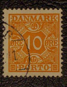 Denmark Scott #J30 used