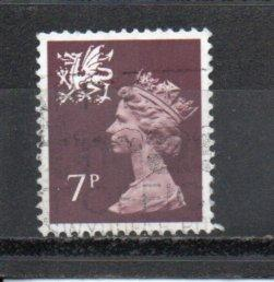 Great Britain - Wales WMMH8 used