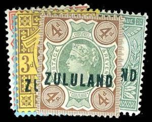 ZULULAND 1-6  Mint (ID # 78292)