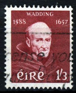 IRELAND 1957 Father Luke Wadding 1/3d. Lake SG 171 VFU