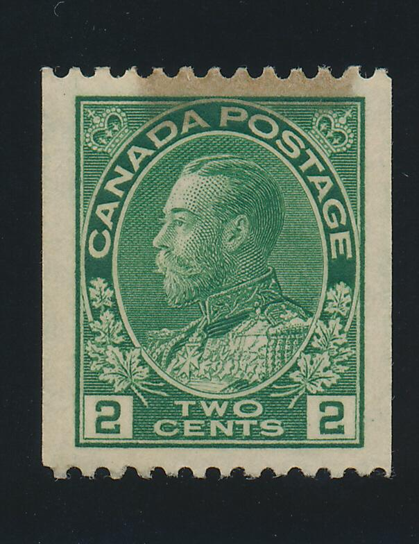 Canada Stamp Scott #133, Mint Hinged With Original Gum, Hinge Shadowing - Fre...