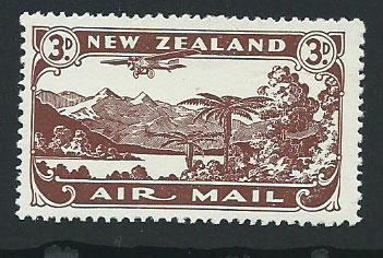 New Zealand SG 548 Air Mail  1931 MVLH