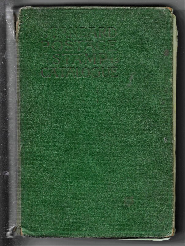 1934 Scott Standard Postage Stamp Catalogue hardbound, couple loose pages