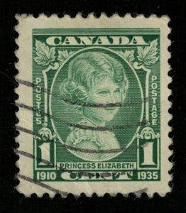 Canada, Princess Elizabeth 1910-1930, 1 cent, SC #211 (T-9294)