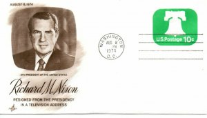 US Event, Nixon Resigns From The Presidency, ArtCraft (9572)