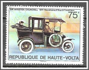 Upper Volta #347 Winston Churchill Issue CTO