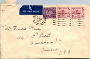 London UK > Francis Kane Brooklyn NY 1946 airmail cover