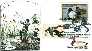 Old Duck #1 John B. Askins RW 56 Shooting Ducks with Bow