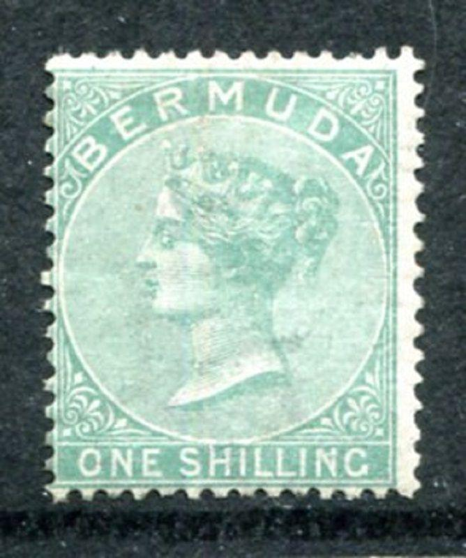 Bermuda 6, Mint hinged, Queen Victoria. issued 1865-1874 CV-$450.0 x11737
