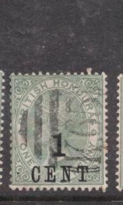 British Honduras SG 36, K65 Cancel VFU (6dhw)