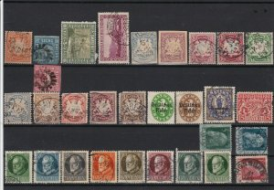 germany saar bavaria  early stamps ref r12659