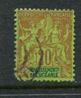 French Polynesia #10 Used