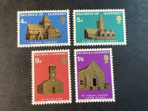 GUERNSEY # 37-40-MINT NEVER/HINGED--COMPLETE SET--1970
