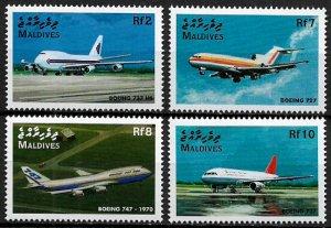 Maldive Is #2313-6 MNH Set - Airplanes
