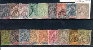 Guadeloupe, 27-44, Navigation & Commerce Singles,**Used/H**