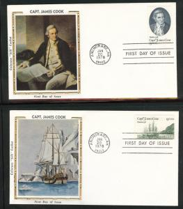1732-1733 Anchorage  FDC  on Colorano Silk Caches U/A