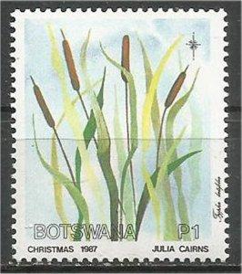 BOTSWANA, 1987 used p1 Grasses Scott 427