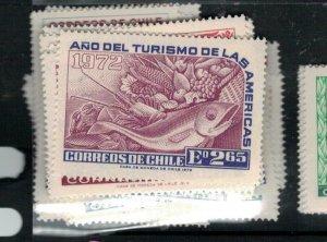 Chile SC 1972 Wine CG 439-40 MNH (10exv)