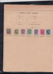 spain 1920s stamps page ref 18202