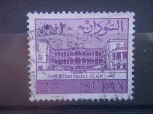 SUDAN, 1962, used 2p, Palace Scott 149