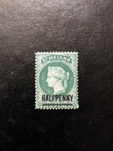 St. Helena 34 F-VFMH, CV $3.25