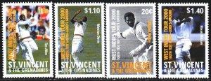 Saint Vincent and the Grenadines. 2000. 4913-16. Baseball sports. MNH.