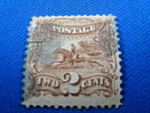 UNITED STATES, 1869 SCOTT #113 -  USED    (#1)
