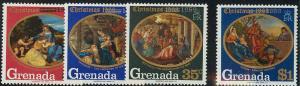 Grenada 341-344 Mint VF NH