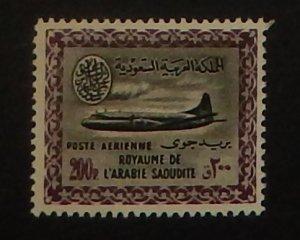 Saudi Arabia C21. 1960 200p Convair 440
