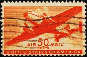 U.S.A. 1941 50c S.G.A907 Fine Used