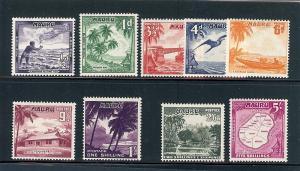 Nauru, 39-47, Various Designs Singles, **MLH**