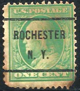 United States 1908-1909 Scott # 331 Used Precancel