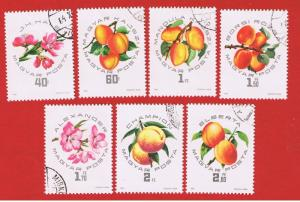 Hungary #1607-1613  VF used  Flowers  Free S/H