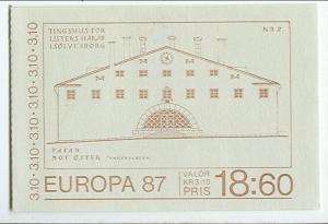 SWEDEN (H375) Scott 1630a, 3.10kr Modern Architecture