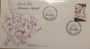 A) 1984, BRAZIL, DAY OF THE BOOK, CHILDREN'S LITERATURE, C, RIO DE JANEIRO, ECT