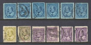 CANADA 91//95a CANCELS COLLECTION LOT $900 SCV