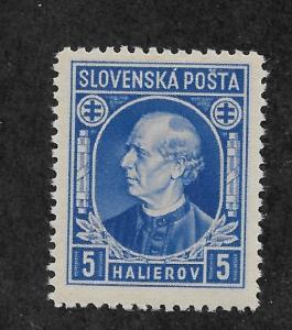 Slovakia 1939,Hlinka Issue,Scott # 26,VF-XF MNH** (AD-St)