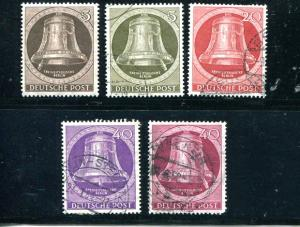 Berlin Bells  Used and Mint NH  VF