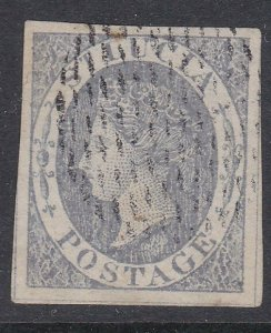 ST LUCIA  An old forgery of a classic stamp.................................D277