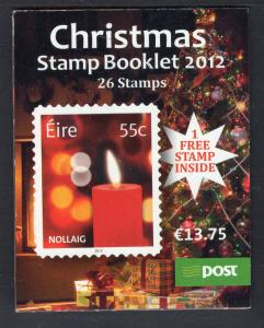 Ireland 1983b Christmas Booklet MNH VF