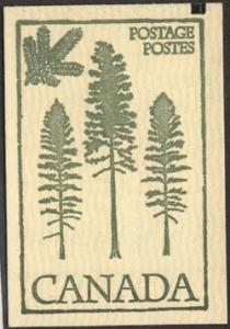 Canada - #BK78d Counter - The scarce 100mm wide pane with extra tag line at left